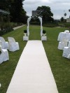 Aisle Runners & Pew Bows