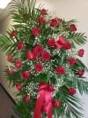 Spray Red Roses 223