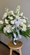 Vase Mixed all White
