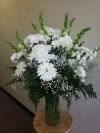 Vase All White