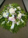 Casket Spray with Hydrandgea & Lilies